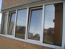 Балконы.окна.двери.металлопластиковые