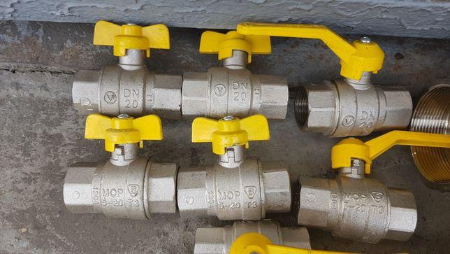 Краны шаровые (вода, газ) Ду50 и Ду20 Славянск - изображение 3