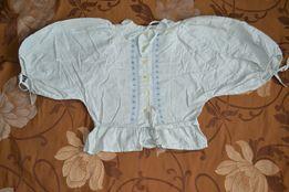 Женская вышиванка конец 60-х годов, на рост 150-160 см