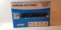 DVD плеер + караоке BBK Black