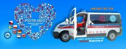 Transport Sanitarny Medyczny Ambulans