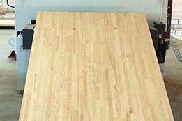 Мебельный щит c порезкой большого формата сосна/ольха 18х1200х2500