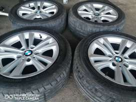Bmw F30 Sport Oem rims and tyres