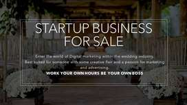 STARTUP BUSINESS FOR SALE