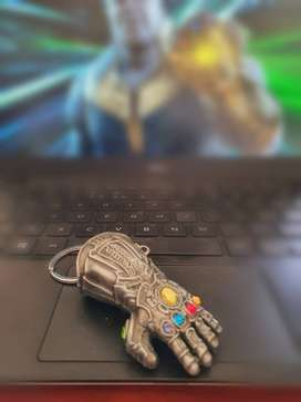 Thanos Glove Keyring with all infinity stones