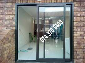 Sliding door, Aluminum Windows, Glass shower, mirror garage door, Gate