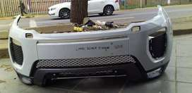 UP FOR SALE IS A RANGE ROVER EVOQUE FRONT BUMPER AVAILABLE