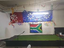 Stage hire and saled