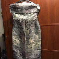 Nowa sukienka sylwester, wesele, srebrna błyszcząca