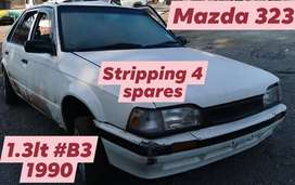 Mazda 323 1.3lt #B3 1990 stripping for spares