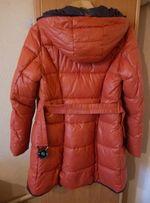 Продам женскую зимнюю куртку, силикон , б/у