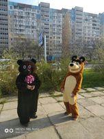 Ростовая кукла медведь, мишка, для поздравления, презентации, дня рожд