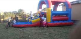Jumping Castle and stretch tent