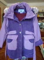 Пальто для девочки осень- весна.