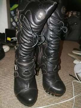 New Rock brown boots