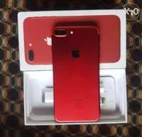 Product Red IPhone 7 plus,warranty valid,256 gigabytes & everything 0