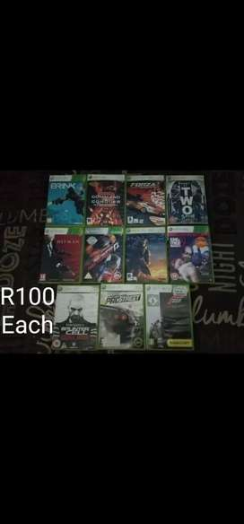 XBox 360 Game's and accessories