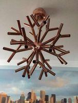 Corallo, rafa koralowa, żyrandol miedziany/ lampa miedź, nowoczesny
