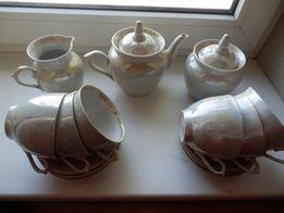 фарфоровый чайно-кофейный сервиз ,Городница