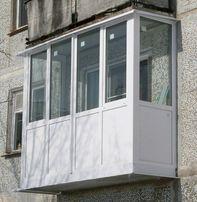 Балкон француз от 18990грн. Под Ключ. Энергосбережение. Утепление