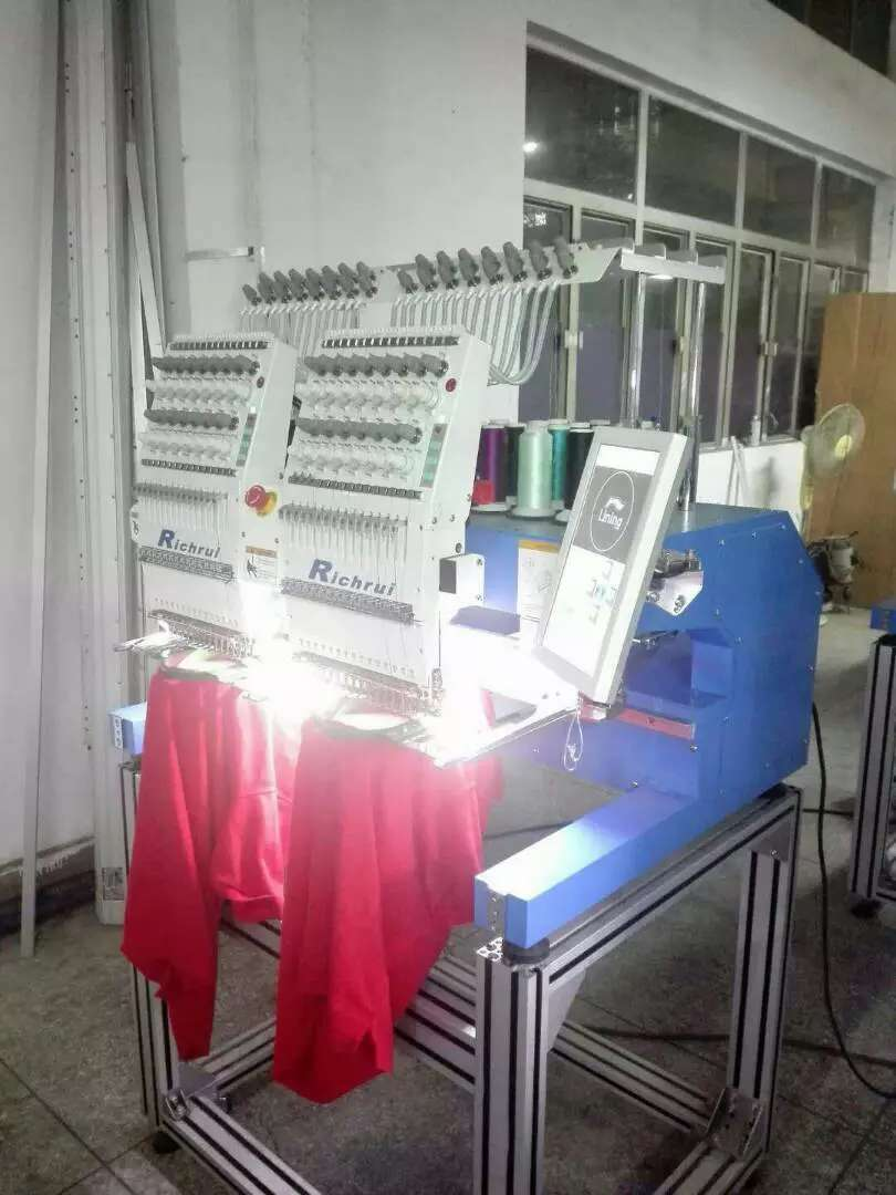 2 HEAD AND 10 HEAD EMBROIDERY MACHINE 0