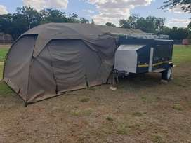 Camping trailer to swop or sell