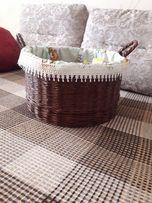 Корзинка корзина. Плетение. Ручная работа. Handmade. На подарок