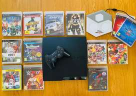 PS3 Console, games and Infinity Pad