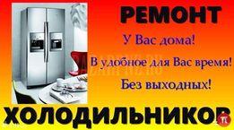 Ремонт холодильников бытовых Херсон,область с горантией на дому.