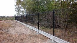 Panele ogrodzeniowe montaż ocynk+kolor ogrodzenia panelowe PROMOCJA !!