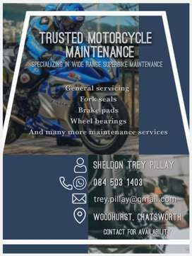 Motorcycle maintenance services
