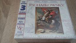 Tschaikowsky, Antonin Dworak, Maurice Ravel. CD Nowa.