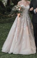 Suknia ślubna retro rustykalna koronkowa oryginał Essense of Australia