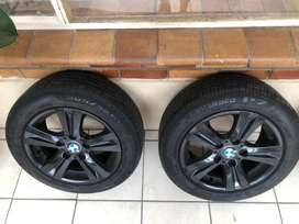 BMW Rims with Run flat Tyres