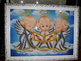 Картины,иконы бисером под заказ