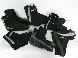termiczne ochraniacze na buty rowerowe 6 par