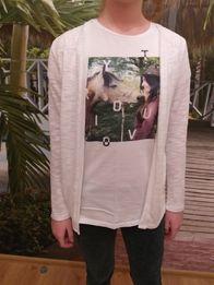 Sweterek biały r.164