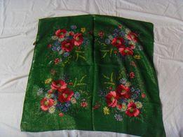 Платки старинные -шерсть-Япония- 75х75