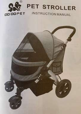 DoDo Pet 4 wheel stroller