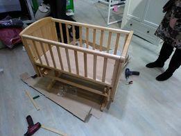 Зберу дитячі меблі у Львові, зберу колиску, ліжко, шафу. Дзвоніть