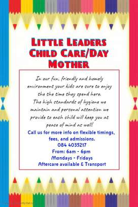 Child Care/Day Mother - Goodwood