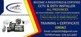 Become a Registered and Qualified CCTV and DStv Installer