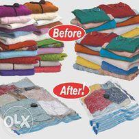 Вакуумные пакеты для одежды 70*100 см, 80*60см, 60*50см