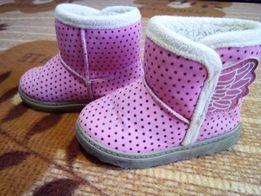 Зимние угги для девочки