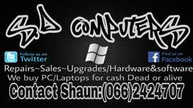 S. D COMPUTER REPAIRS AT YOUR SERVICE