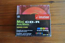 Mini Recordable Discs For CD-R Cameras (new sealed) –R200