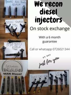 Diesel Injectors available