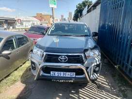 2019 Toyota Hilux 2.4 GD6 Double Cab with a leather SRX Raiders