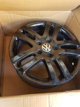 Black Vw rims