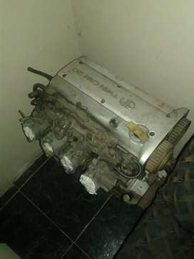 Toyota 20valve engine and gearbox